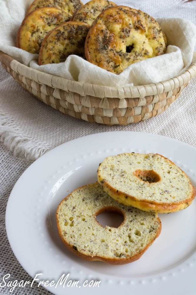low carb bagels. Might make a nice change from the seed and nut bread. But I need protein powder and a doughnut pan