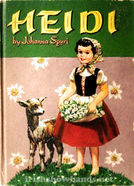 Heidi, a favorite for girls' book club, it teaches the lesson of God's Providence and others like prayer, mercy and grace! Love the goats too!
