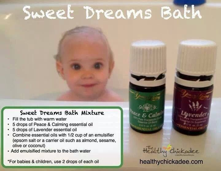 Young Living Essential Oils for sleep. Peace & Calming and Lavender are in the Premium Starter Kit!