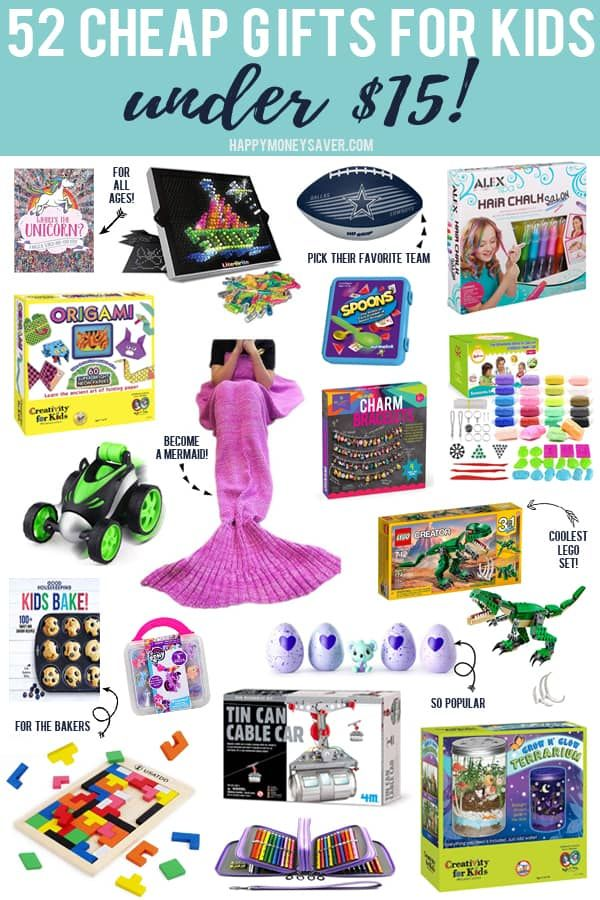 52 Cheap Gifts for Kids under $15   Cool gifts for kids ...