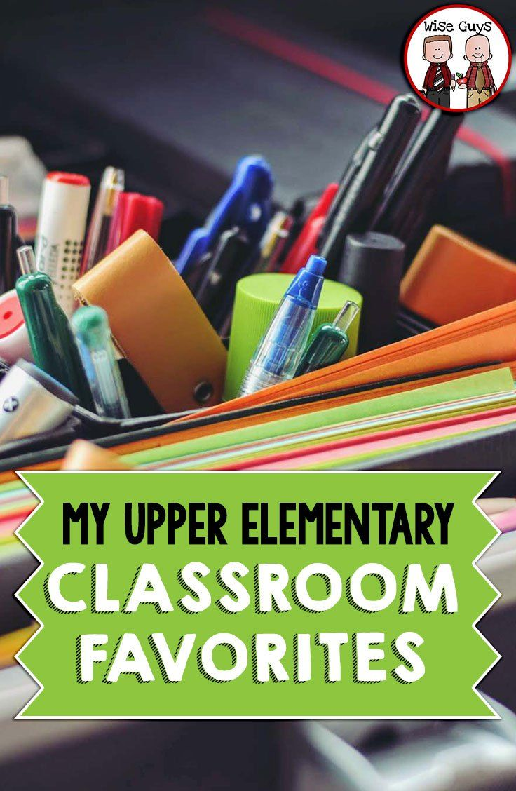 When it comes to classroom resources, every teacher has a few items they couldn't possibly ever go without! It might be that favorite stapler, that electric pencil sharpener that works, or an amazing resource! Here's a list of our must haves for the upper elementary classroom before you go back to school!