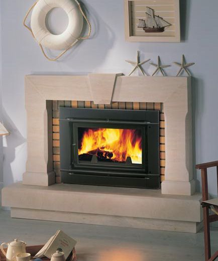 Wood Stove Insert 434 520 Interior Design Pinterest Stove Fireplace Fireplace