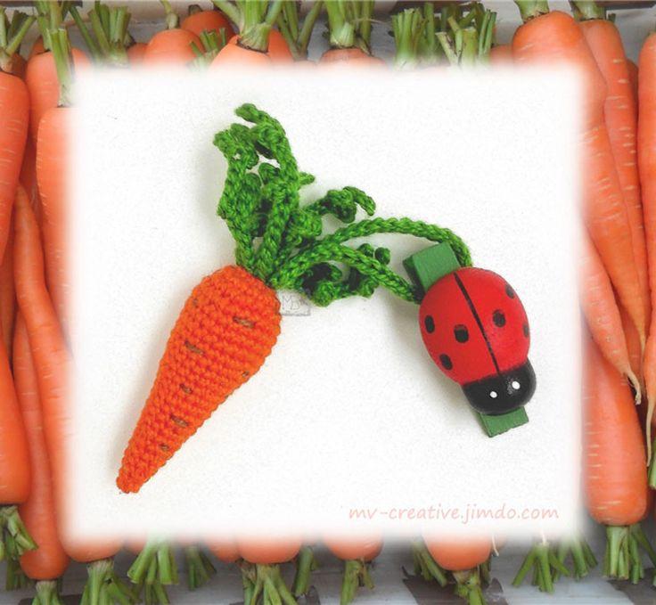 Морковка, аромамедальон, Авторская работа / Carrot for essential oils, The work of authorship