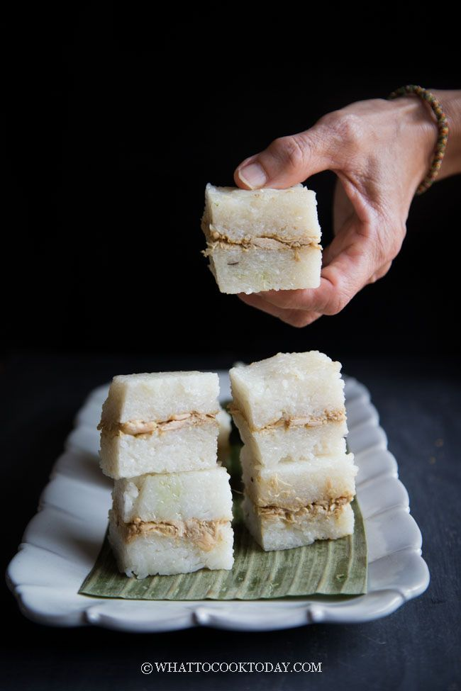Easy Lemper Ayam Sticky Rice With Chicken Floss My Mom S Delicious And Super Easy No Wrap Indonesian Lemper Ayam Recipe I Food Asian Food Appetizers Recipes
