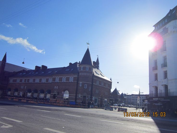 I went to Copenhagen, Denmark with my class in march 2012, and this is a picture from downtown, I didn't like the city too much but I had a great time with my classmates.