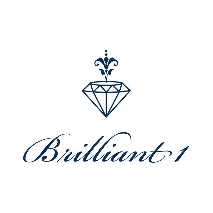 ジュエリーブランドのロゴデザイン Logo design for a jewellery brand.