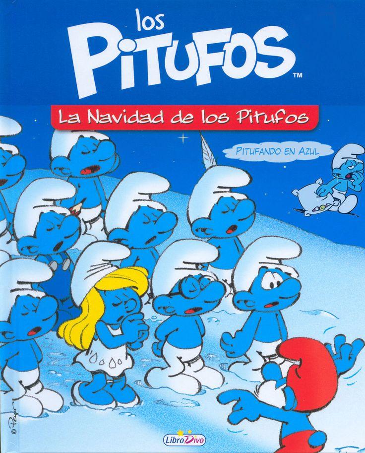 Un libro para conocer como viven los Pitufos la Navidad.