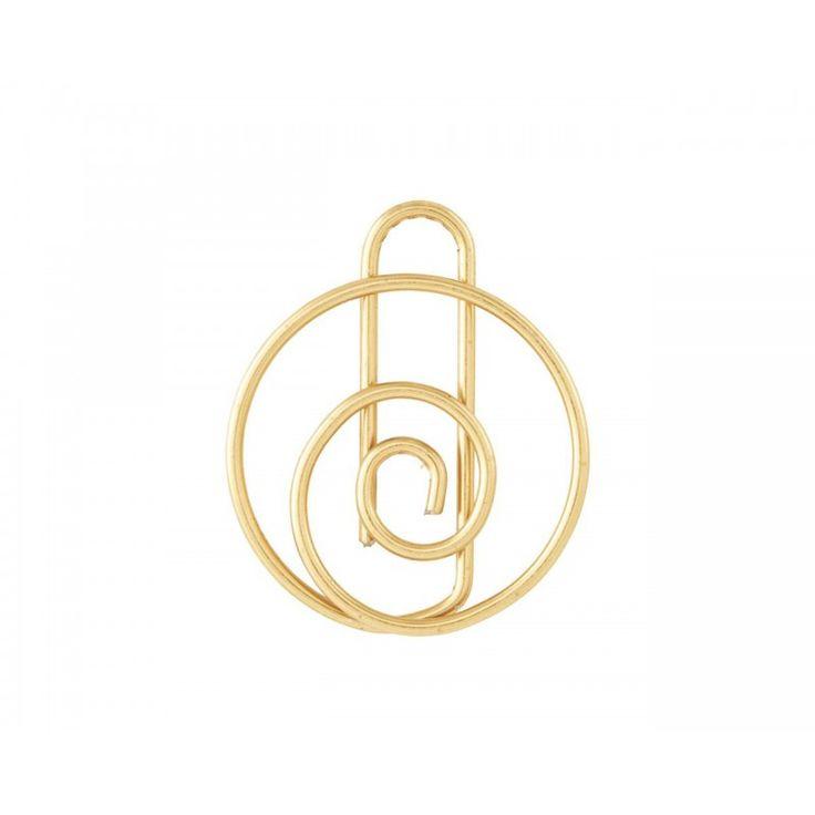 Clip SHAPE - Brass Finish