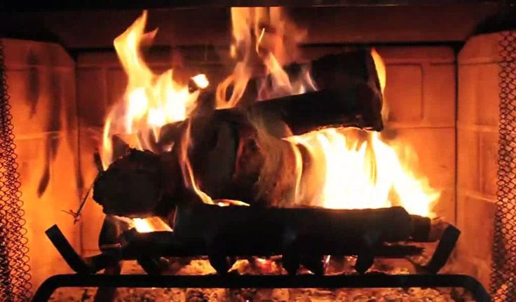 1000 Ideas About Fireplace Screensaver On Pinterest