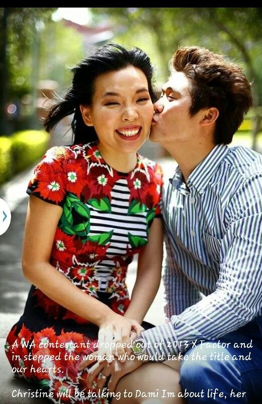 Dami Im with her husband Noah! I love these two!!! <3 <3