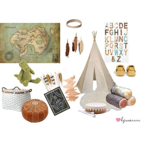 """Peter Pan Nursery"" by lysserrrr on Polyvore"