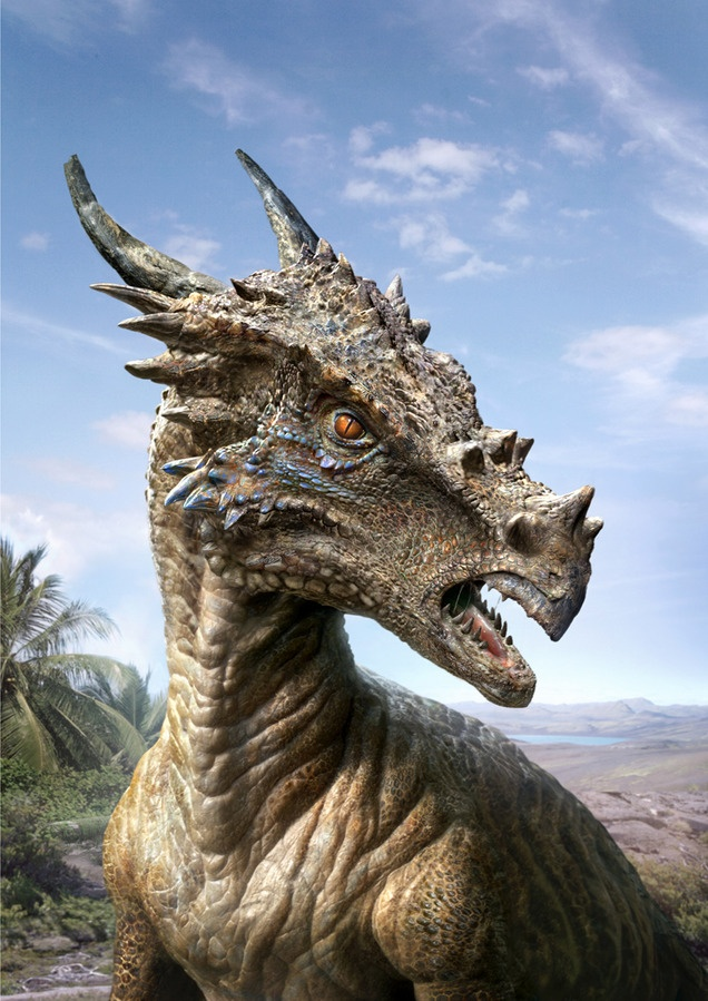 Dracorex hogwartsia was its name, which mean the 'Dragon King of Hogwarts', until it was discovered in theory to be early stages of the pachycephalosaurs so it's name isn't legit anymore