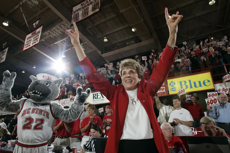 Kay Yow. Inspiring woman who left an incredible legacy. R.I.P.