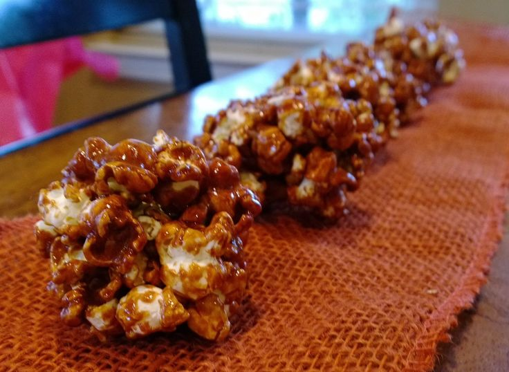 """""""Sugar Free"""" Caramel Corn - it's made with honey so I don't think its really sugar free. But, it's much healthier than regular caramel corn. It's even made with coconut oil instead of butter."""