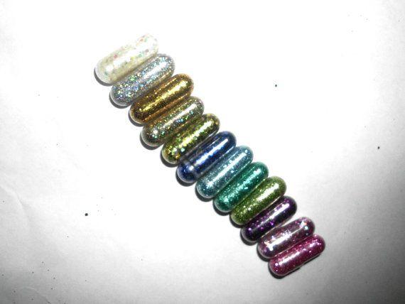 Glitter Pills Glitter Pill Sparkle Pill 10 Pills by GustavosGoods