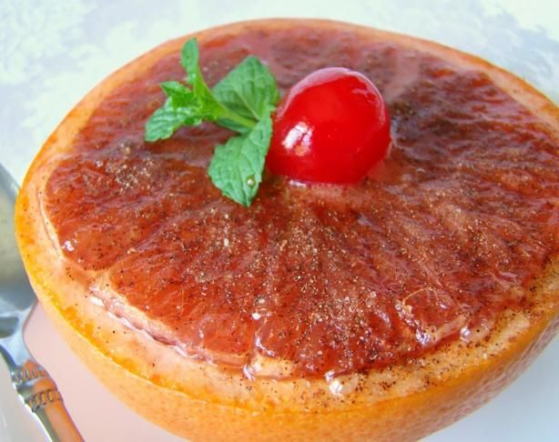 Sweet Broiled Grapefruit | Recipe