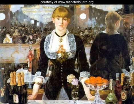 Manet, A Bar at the Folies-Bergere