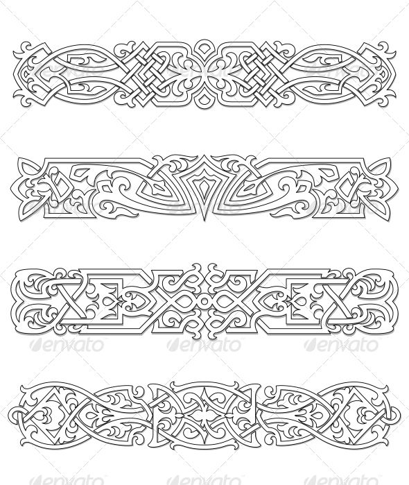 Retro Borders and Ornaments #GraphicRiver Retro borders and ornaments set for design and ornate. Editable EPS8 (you can use any of your vector program) and JPEG (can edit in any graphic editor) files are included SPORTS MASCOTS MEDICINE FOOD LABELS WEDDING DESIGN ELEMENTS FLORAL OBJECTS WEB ICONS ANIMALS Created: 1May13 GraphicsFilesIncluded: JPGImage #VectorEPS Layered: Yes MinimumAdobeCSVersion: CS Tags: adornment #book #border #calligraphic #calligraphy #certificate #classic #classical…