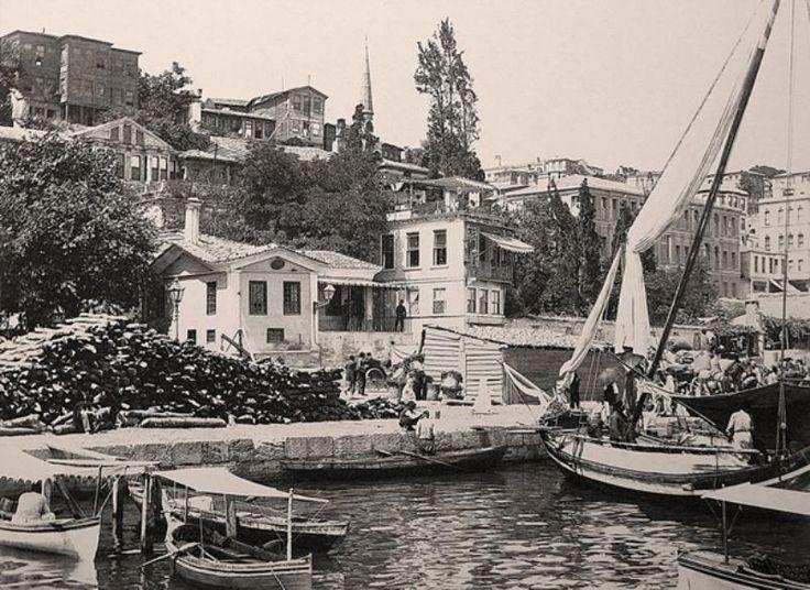 Kabataş İskelesi - 1890