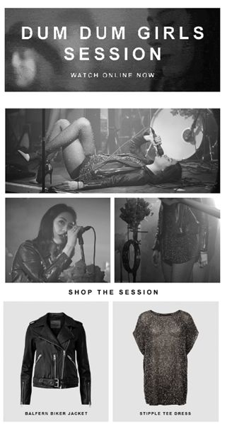 Una live session della rock band femminile più stilosa del momento e una selezione di look ispirata a quelli delle componenti. Wow!
