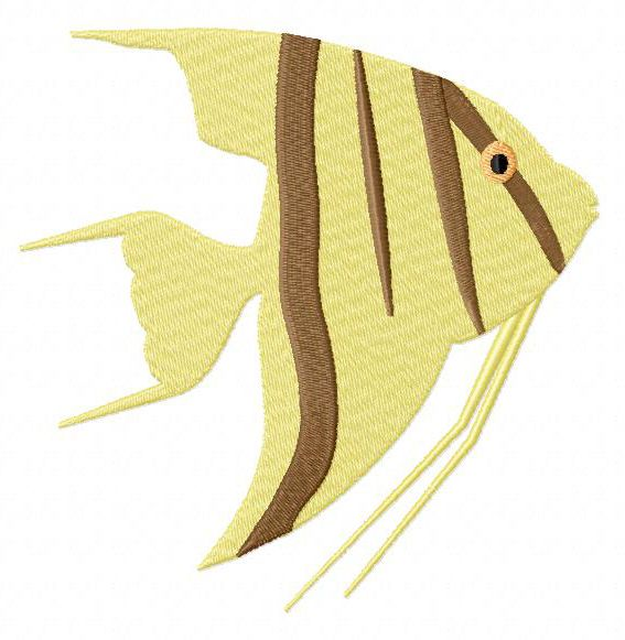 Striped Fish from Applique Forum