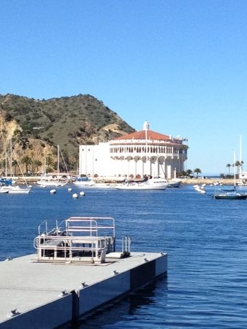 Catalina Casino is located on Santa Catalina, one of California's Channel Islands.  Santa Catalina is 22 miles (35km) long and 8 miles (1...