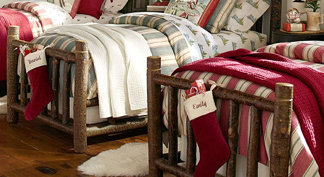 Adorable holiday bedding at pottery barn home sweet home pinterest 26 love and pottery - Pottery barn holiday bedding ...