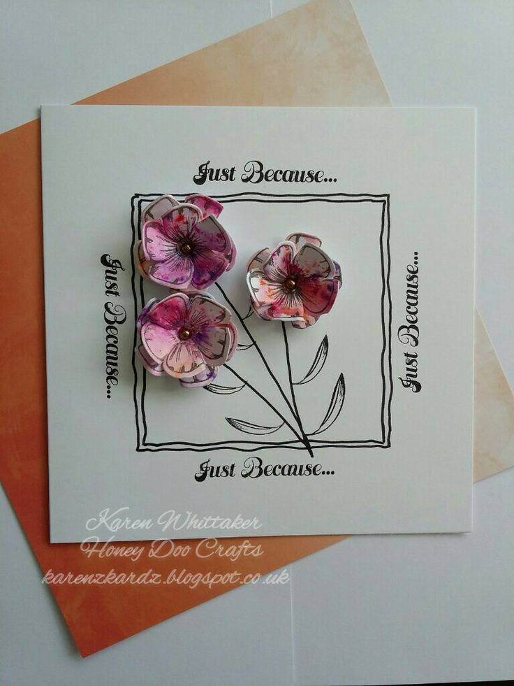 Honey Doo Crafts Cherry Blossom stamp set and die xx #honeydoocrafts #dtsample #cherryblossom #pixiepowders #flowers #stamping #stamps #cardmaking #cards #craft #creative #ilovetocraft