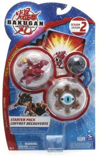 """Bakugan Battle Brawlers Season 2 Bakuneon Series, New Vestroia Starter Pack - """" NOT Randomly Picked"""", Shown As In The Picture! (D) by Spin Master. $12.99. Warning! Risk of serious digestive injuries in the event that magnets are swallowed!. """"NOT"""" randomly picked, you are getting what is shown in the picture.. Bakugan Battle Brawlers Season 2 Bakuneon Series, New Vestroia Starter Pack. For age 5 and up. Starter pack includes: 3 Bakugan, 3 ability cards, and 3 metal gate..."""