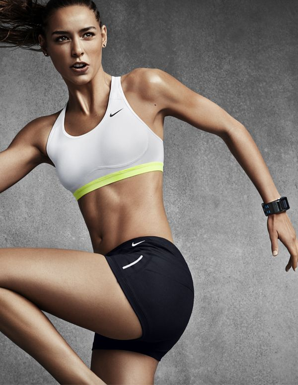 Moves with you. Cover more ground in the Nike Pro Fierce. #NikeProBra