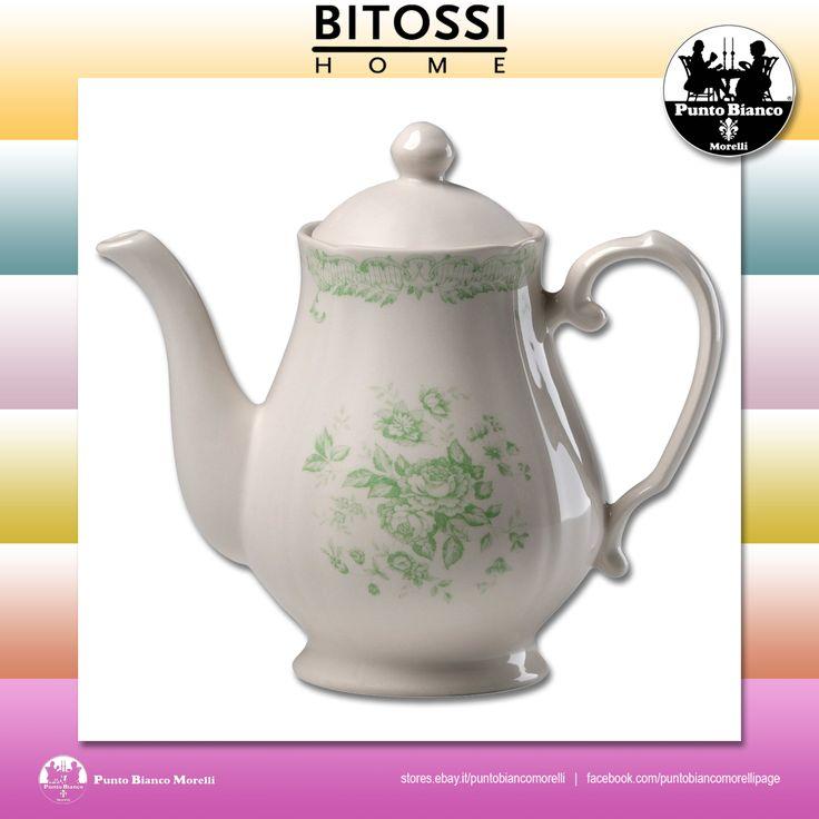 BITOSSI HOME. ROSE Teiera con coperchio | Teapot with lid