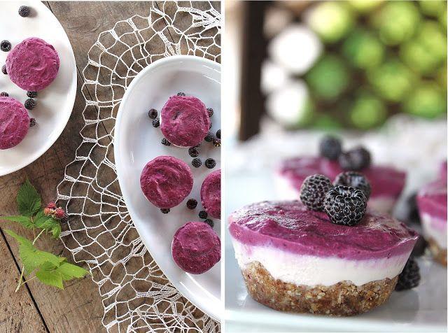 žít vege: raw lesní cheesecake