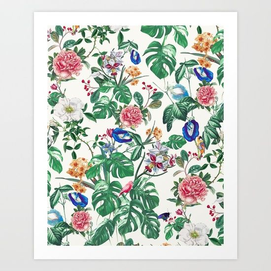 #botanical #art #fashion #homedecor #pattern