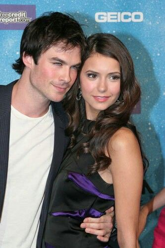 When Ian & Nina were a couple. Damon and Elena on The Vampire Diaries.