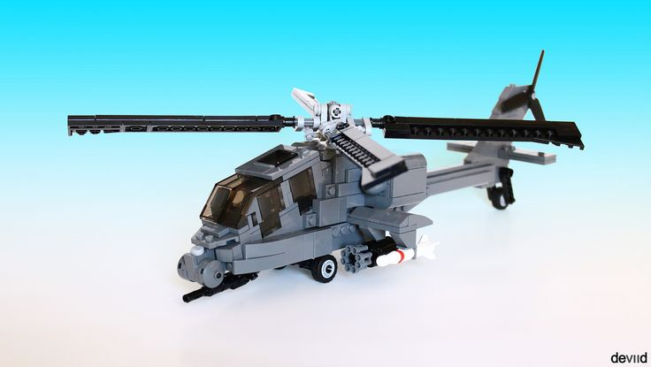 Boeing AH-64 Apache (front) | by Devid VII