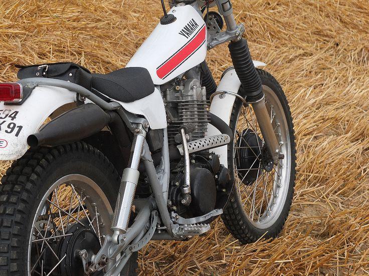 Construction d'un prototype trial loisir sur base Yamaha 500 XT et Yamaha 125 TY