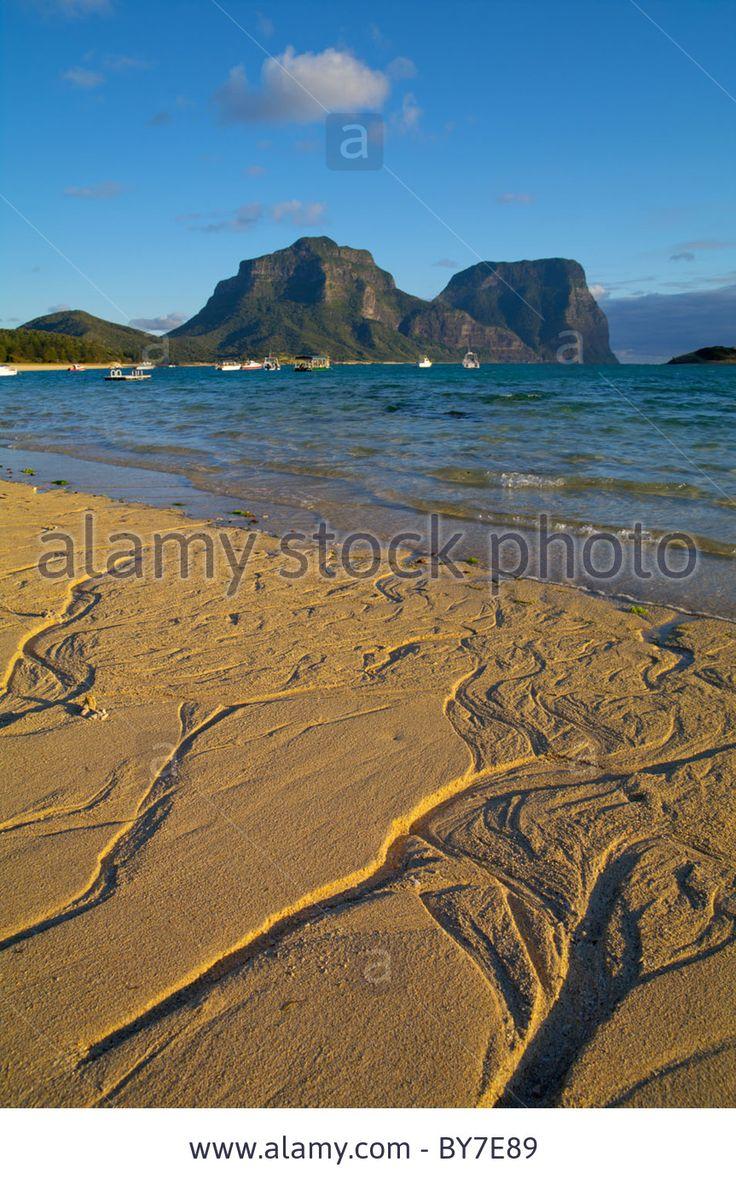 Lagoon beach, Lord Howe Island, Australia
