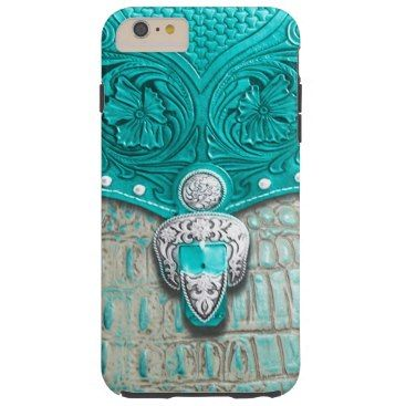 """Title : 100,, Southwest Style, Turq/Alligator Print Tough iPhone 6 Plus Case  Description : Patterns, Fabrics, Textiles, """"South-American-Inspired"""", Aztec, Mayan, Inca, Cultural, Ethnic, """"Tribal-Prints"""", Gifts"""", """"Home-Décor"""", Fashions, """"Custom-Designs"""", """"Native-American-Indian"""", Ikat, Kokopelli, Western, Southwest, Vibrant, """"Tribal-Art"""", Symbolic, Iconic, Nationality, Exotic, Contemporary, Modern, Stylish, Trendy, """"Custom-Designs"""", Traditional, """"Bold-Colorful-Fabrics"""", """"Fun-Fabrics""""…"""