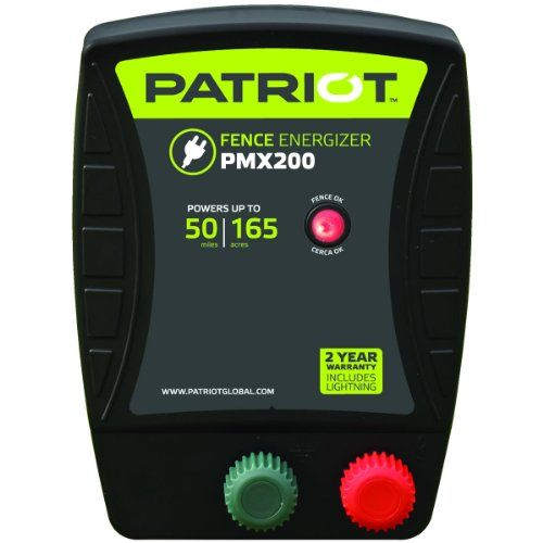 Patriot Electric Fence Energizer, 2.0 Joule PMX200 ** You can find more details by visiting the image link. #DogTrainingBehaviorAids