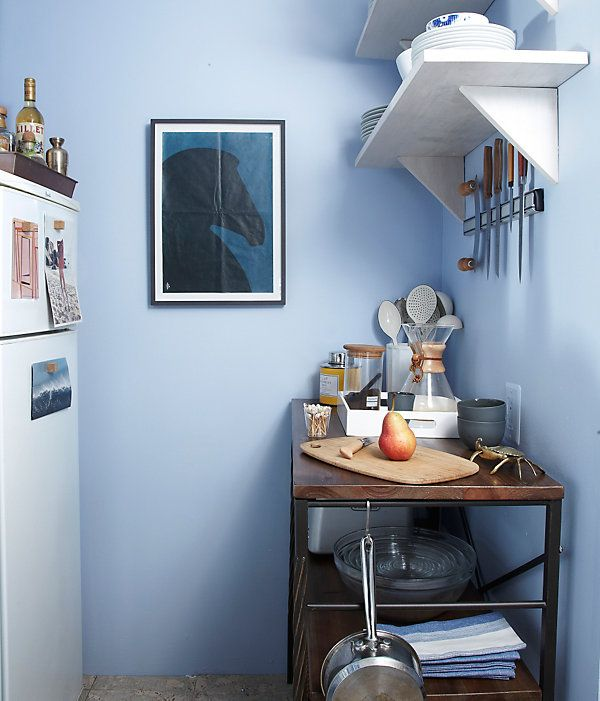 Kitchen Makeover — some great ideas for making the most of a small space.