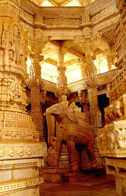 ranakpur (temple d'Adinath) rajasthan by kikivoyage, via Flickr