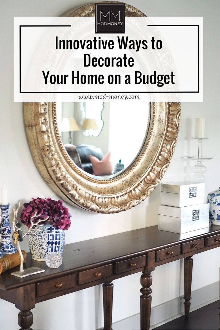 Innovative technology tools are making it easier to decorate your home on a budget. Here are some great ideas for ensuring you get the best deal on your home decor!