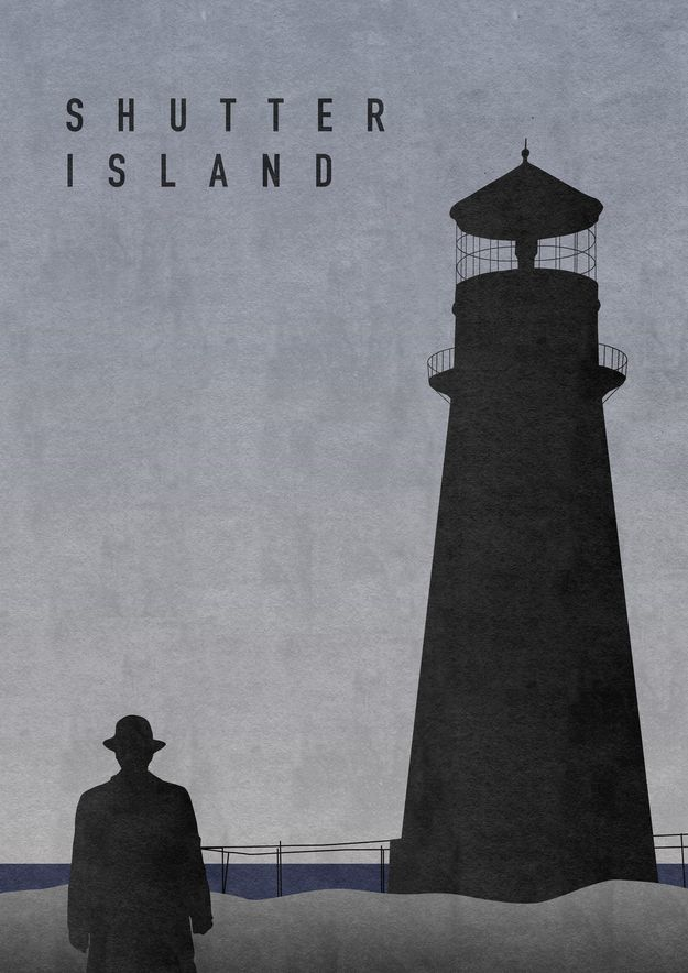 Alternate Poster for Shutter Island I saw this movie months before it came out in my sleep. classic