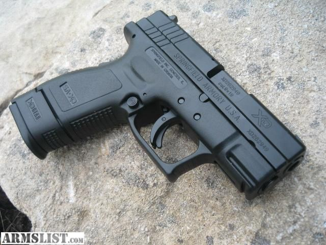 springfield xd9 subcompact Loading that magazine is a pain! Excellent loader available for the Springfield Get your Magazine speedloader today! http://www.amazon.com/shops/raeind