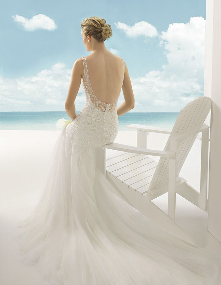 Volga by Soft by Rosa Clara http://www.knutsfordweddinggallery.co.uk/