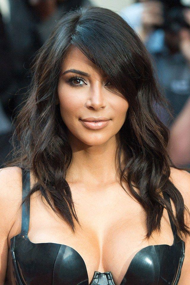 Kim Kardashian's hair looked SO good last night, no?