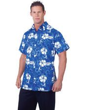 Blue Hawaiian shirt XL  perfect for a beach party theme see it on our ebay shop £12.00