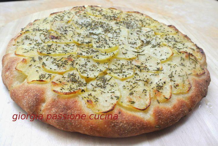 #giorgiapassionecucina #panfocaccia #pane #focaccia #rosmarino #patate #impasto #pizza