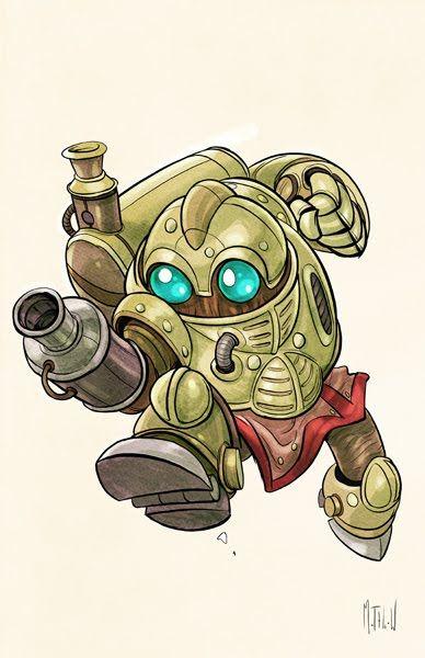 Chrono Trigger Robo by ~matthewart on deviantART