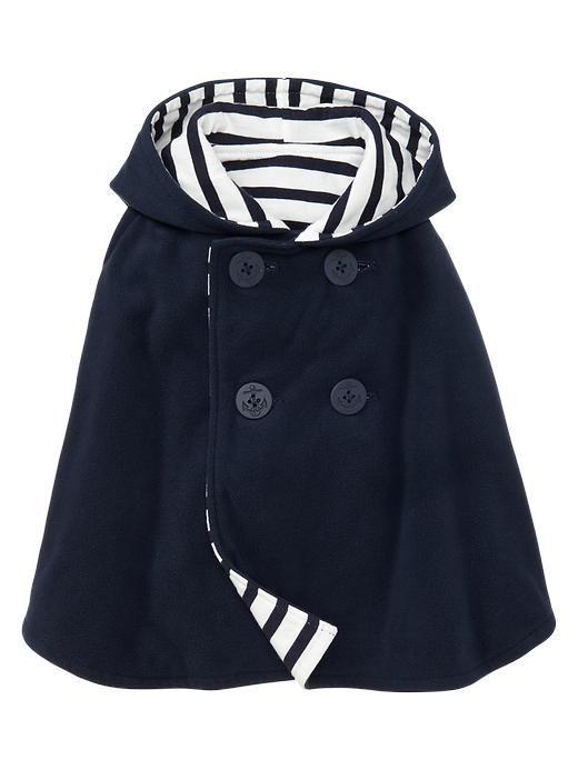 Gap | Reversible fleece poncho